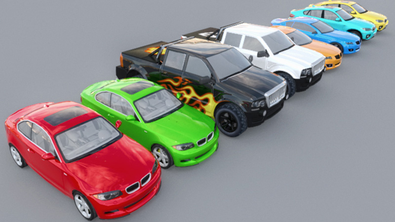 City Cars Pack